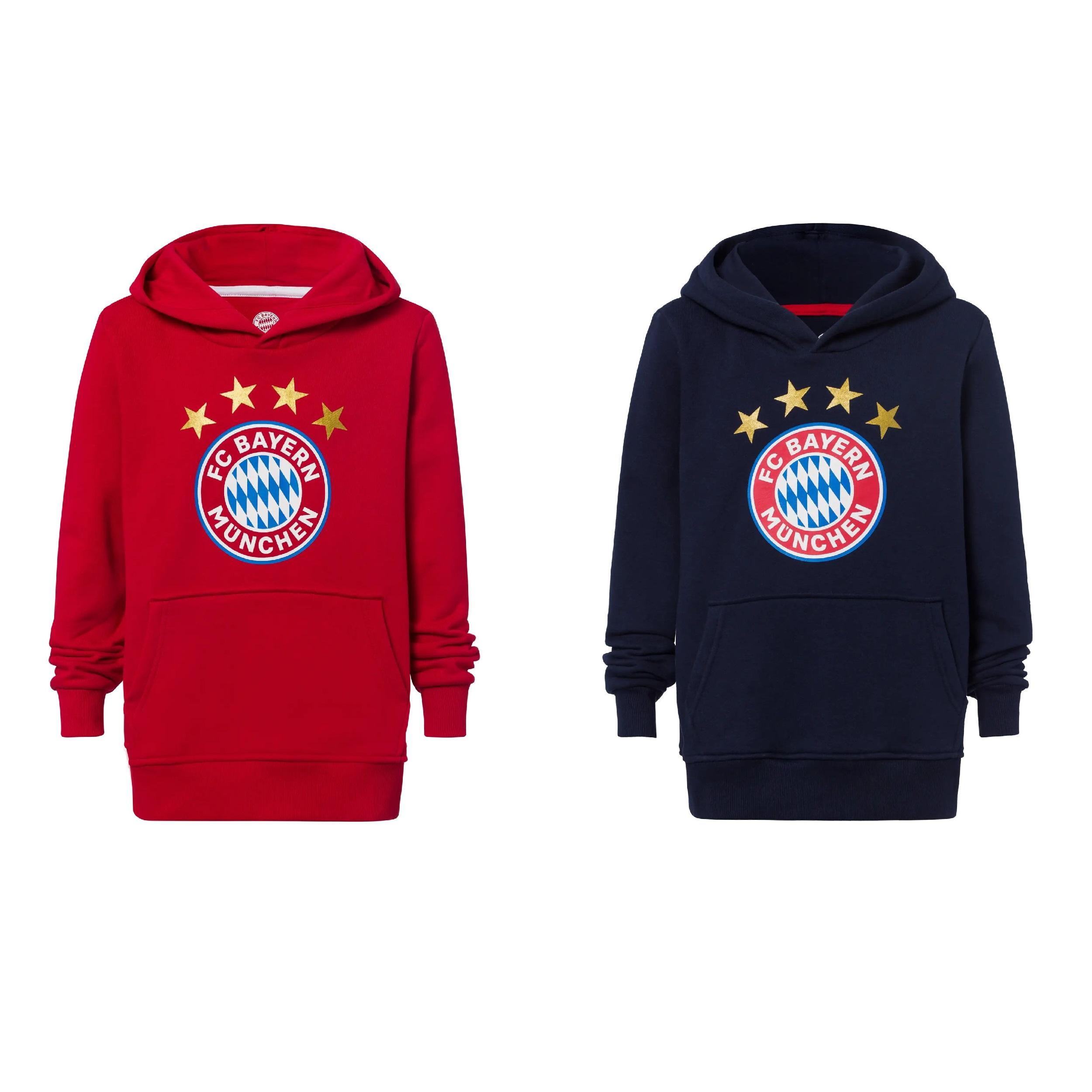 FC Bayern München Herren Kinder T-Shirt Logo rot