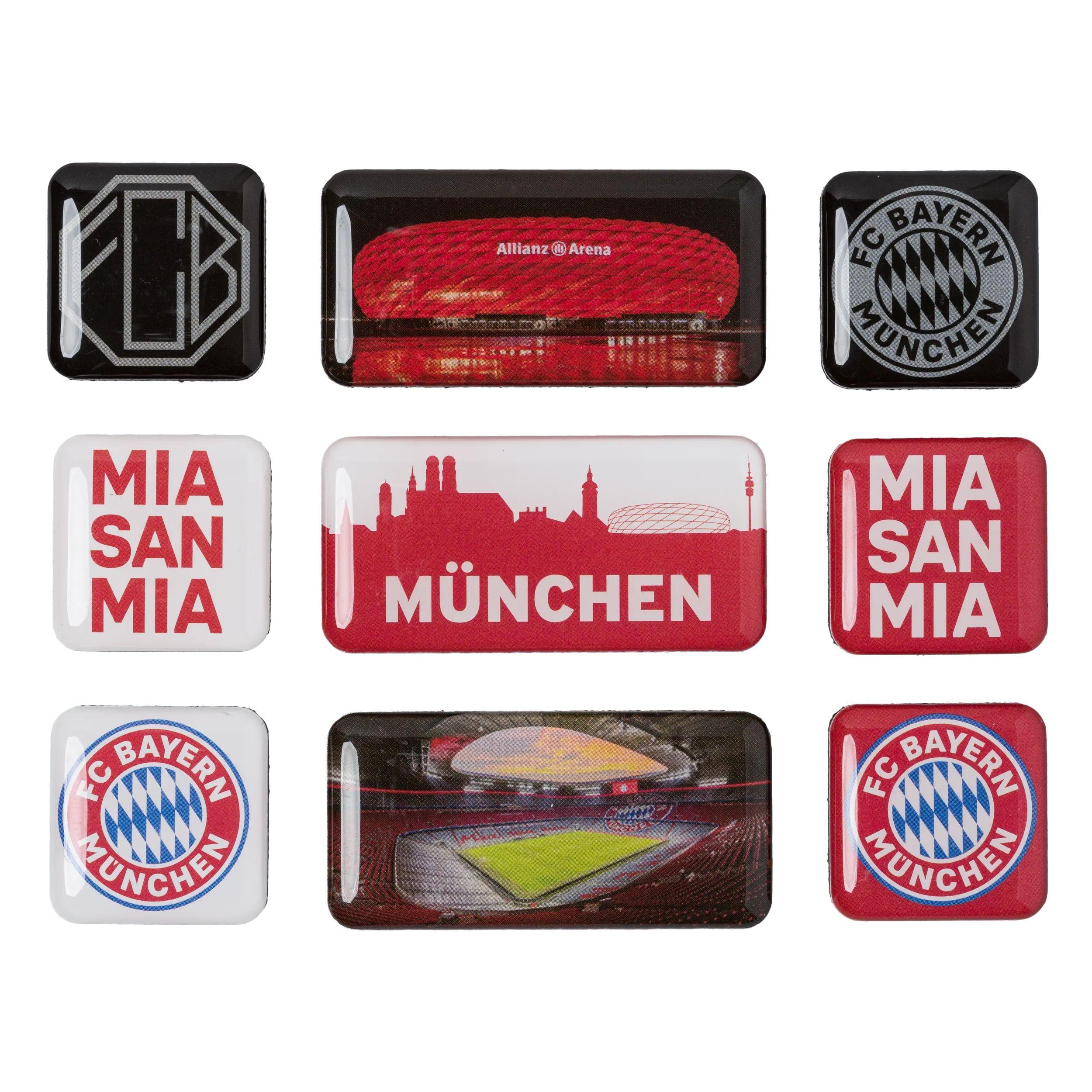 1.FC Nürnberg 9er Magnetset